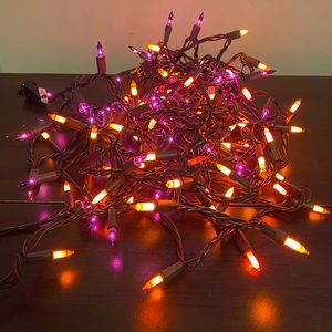 Other - ✨Purple and Orange String Lights
